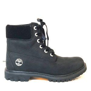 Timberland Waterproof Black Classic Velvet Boots